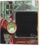 American Lafrance Fire Truck Wood Print