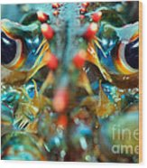 American Lobsters Wood Print