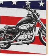 American Made Wood Print