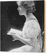 American Stage Actress And Director Wood Print