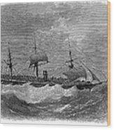 American Steamship, 1870 Wood Print
