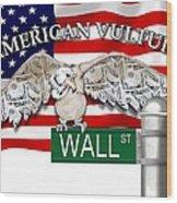 American Vulture Wood Print