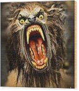 American Werewolf Wood Print
