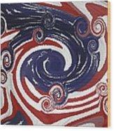 Americas Palette Wood Print