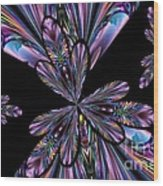Amethyst Affair Wood Print