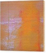 Amethyst Meridian Wood Print