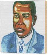 Amilcar Cabral Lopes Wood Print