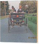Amish Convertible Wood Print