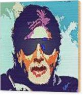 Amitabh Bachchan Wood Print
