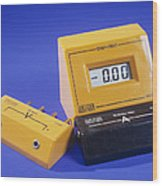 Ammeter And Voltage Multiplier Wood Print
