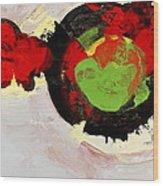 Amorphous Movement Of Wa-ja-rata Mural Study 111347-61649 Wood Print