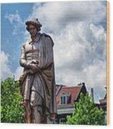 Amsterdam Statue 2007 Wood Print
