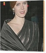 Amy Adams At Arrivals For The 2008 Wood Print