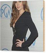 Amy Adams Wearing An Andrew Gn Dress Wood Print