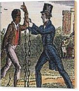 An Abolitionist Wood Print