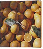 An Abundance Of Oranges Wood Print