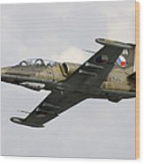 An Aero L-39za Albatros Trainer Wood Print