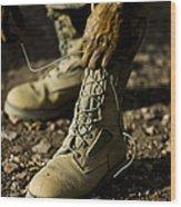 An Air Force Basic Military Training Wood Print