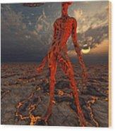 An Alien World Where Its Native Wood Print
