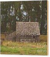 An Idaho Barn Wood Print