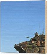 An Lav-25 Armament Reconnaissance Wood Print