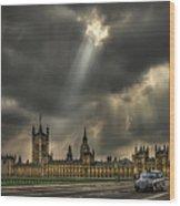 An Ode To England Wood Print