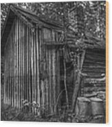 An Old Sauna Wood Print