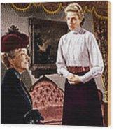 Anastasia, From Left Helen Hayes Wood Print