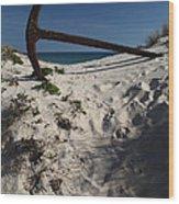 Anchor Beach 10 Wood Print