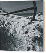 Anchor Beach 11 Wood Print
