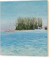 Anchorage At Crystal Bay Wood Print