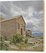 Ancient Church On Hills Of Anatolia Wood Print