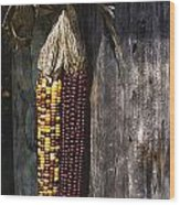 Ancient Corn Wood Print