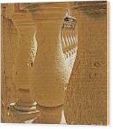 Ancient Railing  Wood Print