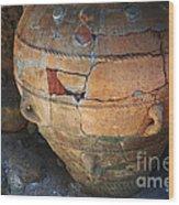 Ancient Relic Of Crete Wood Print