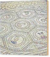 Ancient Spanish Mosaic Wood Print