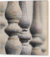 Ancient Spindles Wood Print