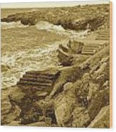 Ancient Steps Of Italy Wood Print