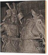 Ancient Warrior Wood Print