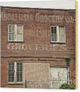 Andalusia Grocery Co Wood Print