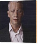 Anderson Hays Cooper - Cnn - Anchor - News Wood Print