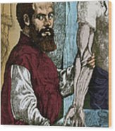 Andreas Vesalius, Flemish Anatomist Wood Print