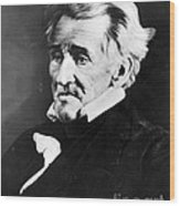 Andrew Jackson, 7th American President Wood Print by Omikron