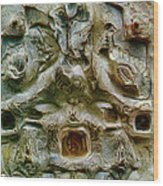 Angel Gabriel 1984 Wood Print by Glenn Bautista