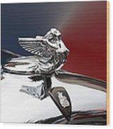 Angel Hood Ornament Wood Print