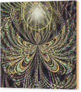 Angel In The Midst Wood Print