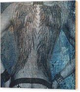 Angel Nude  Wood Print