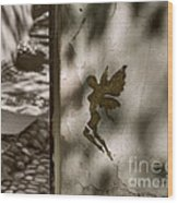 Angel Of Tallinn Wood Print by Ari Salmela