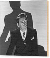Angel On My Shoulder, Paul Muni, 1946 Wood Print by Everett