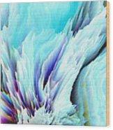 Angel Wings And Heaven Wood Print by Sherri's Of Palm Springs